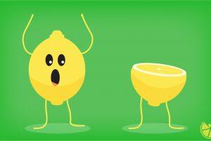 Juego para beber: Un limón, medio limón