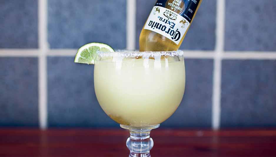 Margarita con cerveza