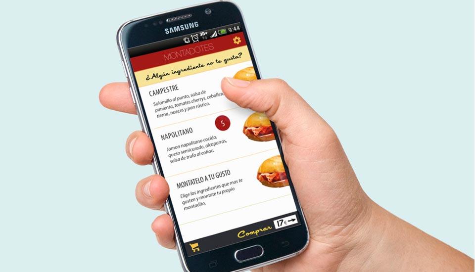 Apps de comida a domicilio